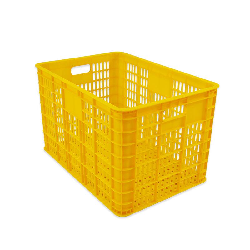 PP HDPE Transshipment Basket Food Vegetable Plastic Crate For sale