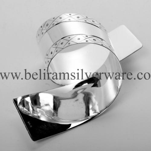 Stylish Silver Napkin Ring