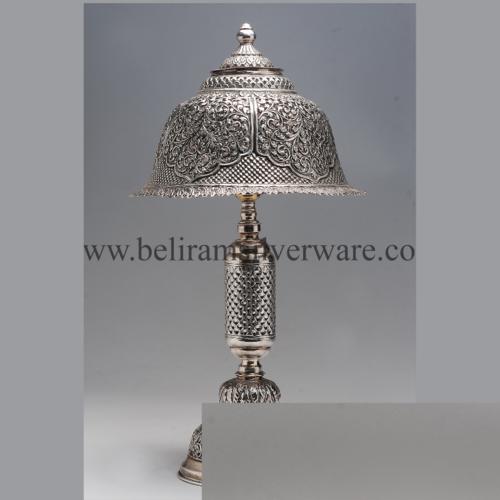 Nakshi Antique Silver Lamp