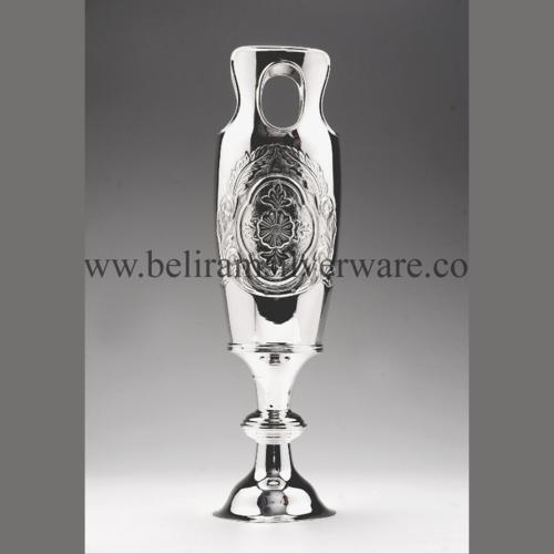 Modern Silver Flower Vase