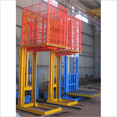 Goods Lift with Safety Arrangement