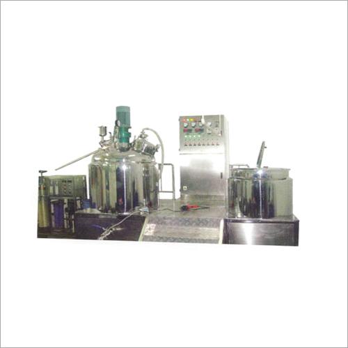Pharma Shampoo Mixer Plant