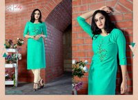 PENT-HOUSE Two Tone 16 kg Rayon Kurtis