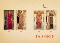 Tashrif Heavy Foux Georgette with Heavy Embroidery Work Dress Materials
