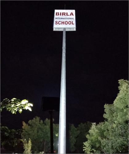 16 Mtt To 22 Mtt Signage Mast Pole