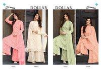 Dollar Designer Georgette Dress Materials
