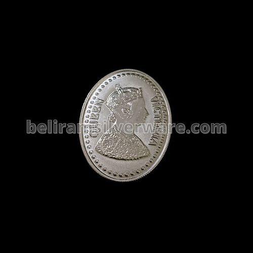 Victorian Emperor Empress Silver Coin