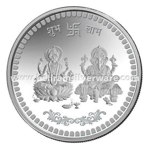 Lakshmi Ganesh Silver Coin