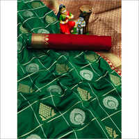 Designer Banarasi Jari Silk Saree