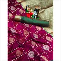 Ladies Bangalori Silk Saree