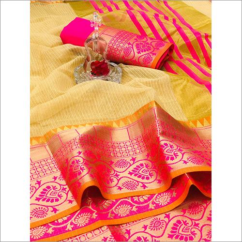 Fancy Bangalori Silk Saree