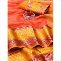 Designer Bangalori Silk Saree