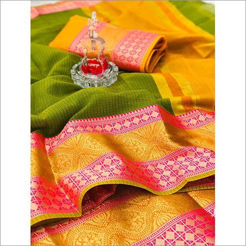 Soft Bangalori Silk Saree