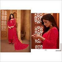 Ladies Fancy Silk Suit