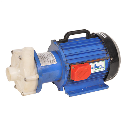 Sealless Magnetic Drive Chemical Process Pump In PP & PVDF Construction
