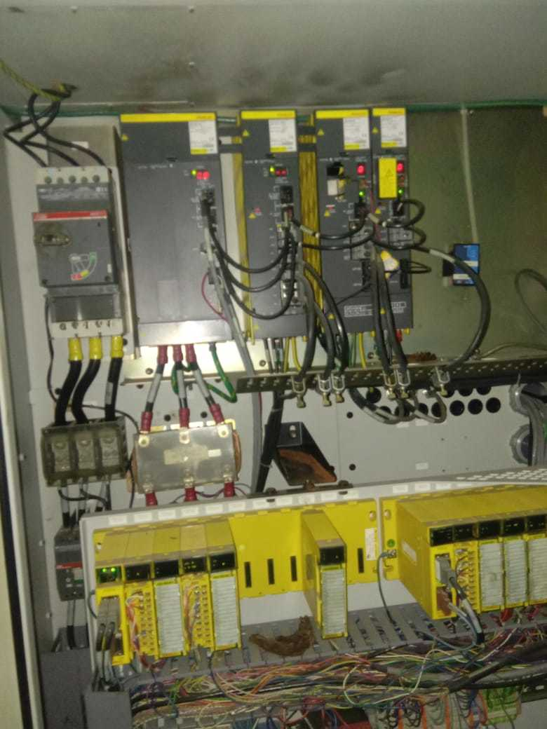 Hardinge QC Imported CNC Turing Center 2004 Model with Fanuc 210i Control for Sale