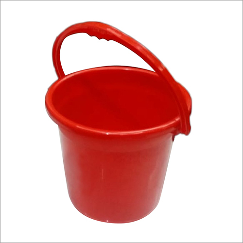 Plastic Red Bucket