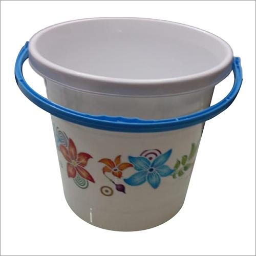 Flora Print Bucket