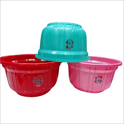 Multicolor Plastic Tub