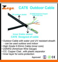 Cat6 out door cable
