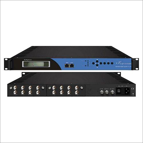 Decoder - 8-Input DVB-S2 - FTA - IP Output CDH8000-DECS2SD-8T