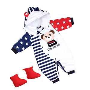 Baby Boys and Girls Cotton Romper Dress