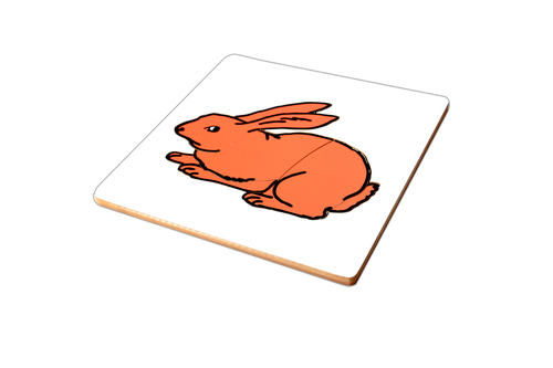 Kidken Rabbit Puzzle For 2 Year Old Kids And Above
