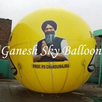 Political Advertising Sky Balloons