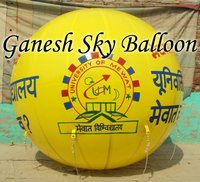 University Advertisement Sky Balloons