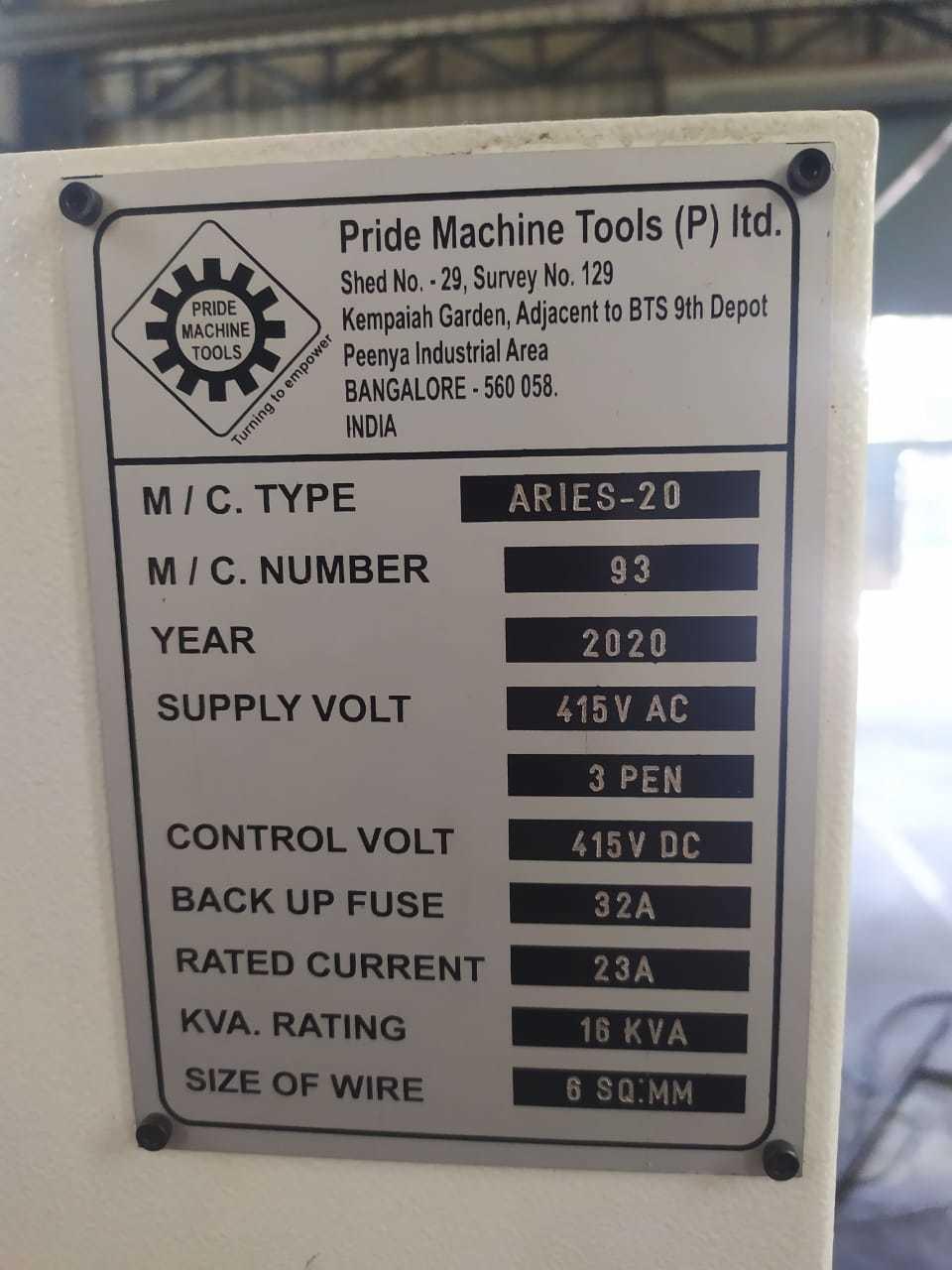 Pride CNC Turning Center 2020 model for Sale