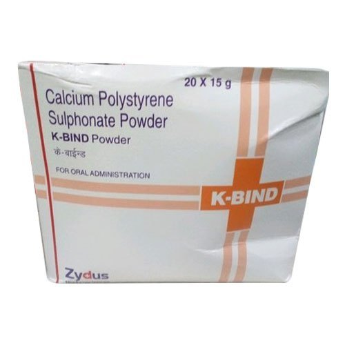 Calcium Polystyrene Sulfonate Powder Sachet