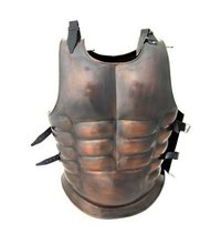 Antique Finish Greek Muscle Armor