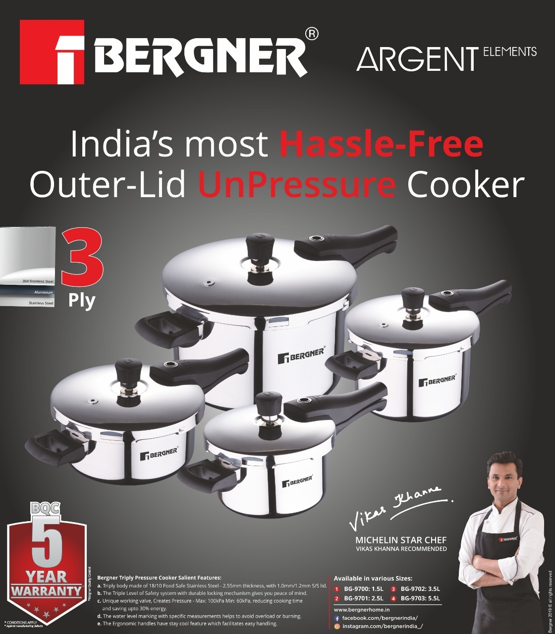stainless Steel Triply Cooker