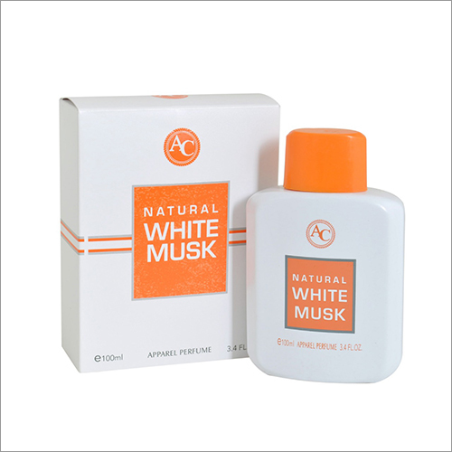 Natural White Musk Apparel Perfume Spray