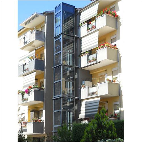 Residential Hydraulic Glass Lift