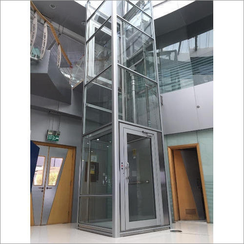 Stainless Steel Hydraulic Home Lift