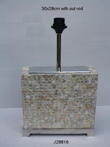 Table Lamp With Mother Of Pearl Inlay