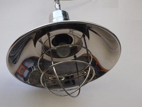 Pendant Lamp With Nickel Plating