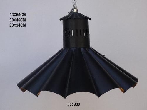 Pendant Lamp In Black  Color