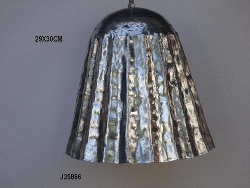 Pendant Lamp Hammered In Aluminum