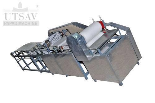 Fully Automatic Appalam Machine
