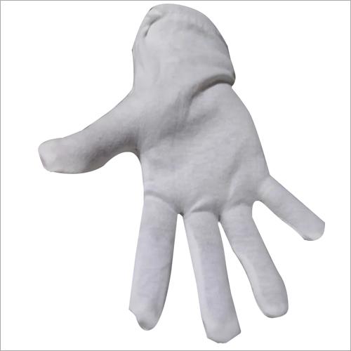 White Nylon Hand Gloves