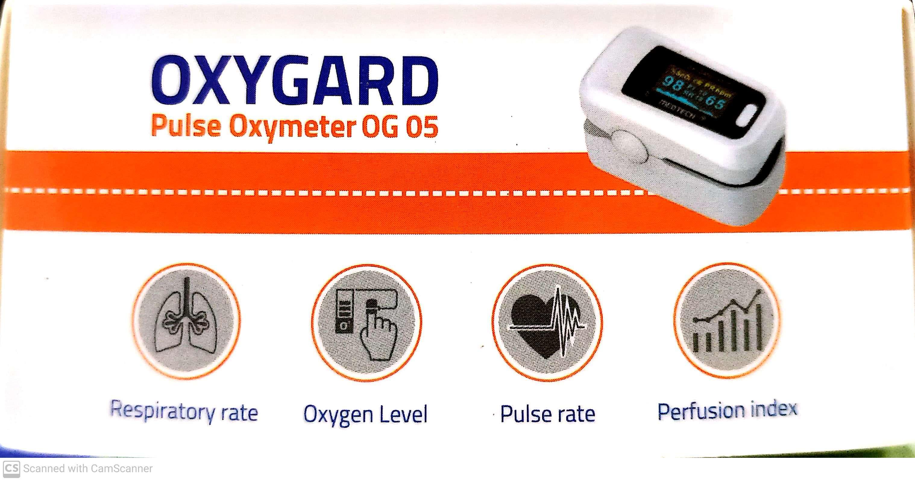 Oxgard Pulse Oxymeter