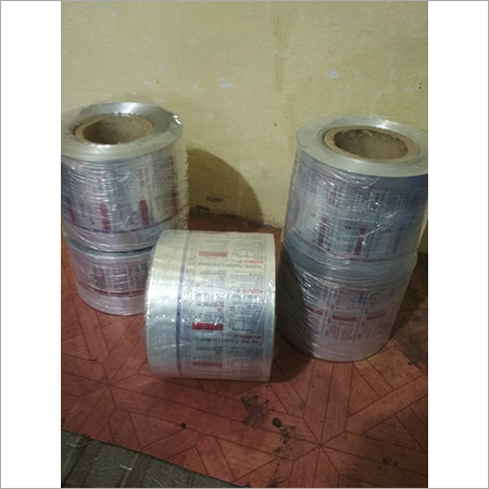 PHARMACEUTICAL PRINTING AND LABELING POLY FOIL  DOUBLE COLOR