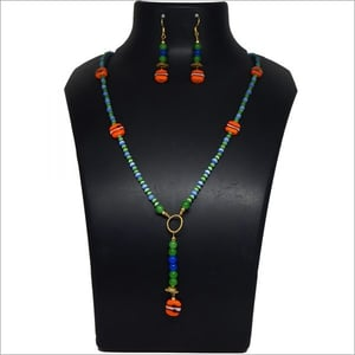 Small Monalisa Stone Beads Necklace