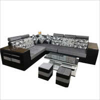 L Shape Designer Sofa Set