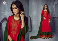 BLOSSOM VOL-14 Jam Silk Cotton With Embroidery Work Dress Materials