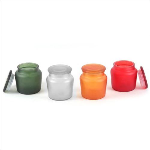 Candle Makti Glass Jars With Lid