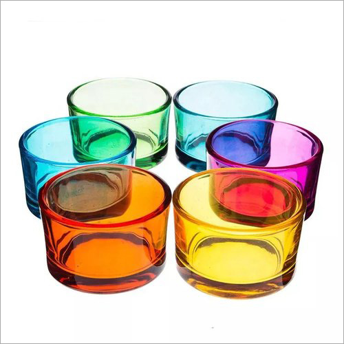 Big Votive Colorful Candle Holders