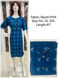 Shreeji Vol 1 Regular Wear Rayon Printed Kurtis